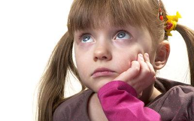 Não subestimem os problemas das crianças!