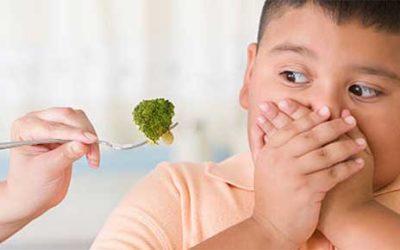 O que fazer se meu filho recusar um alimento na hora da refeição?