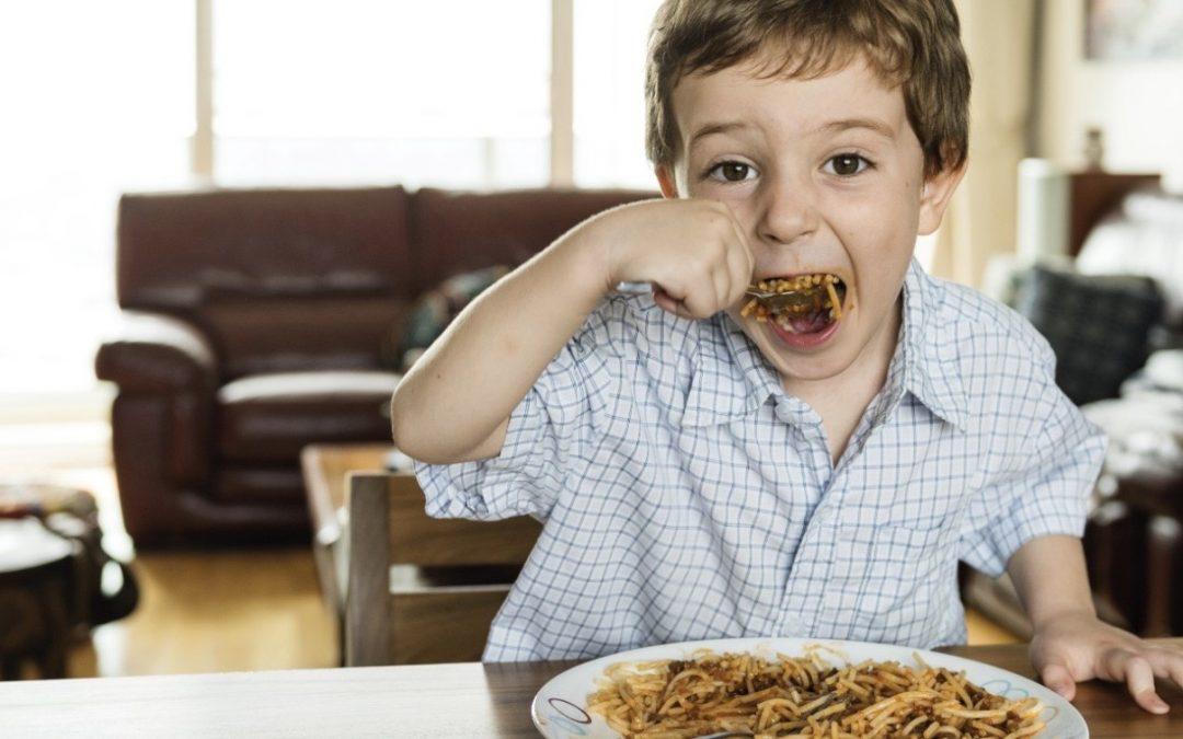 Seu filho come demais?