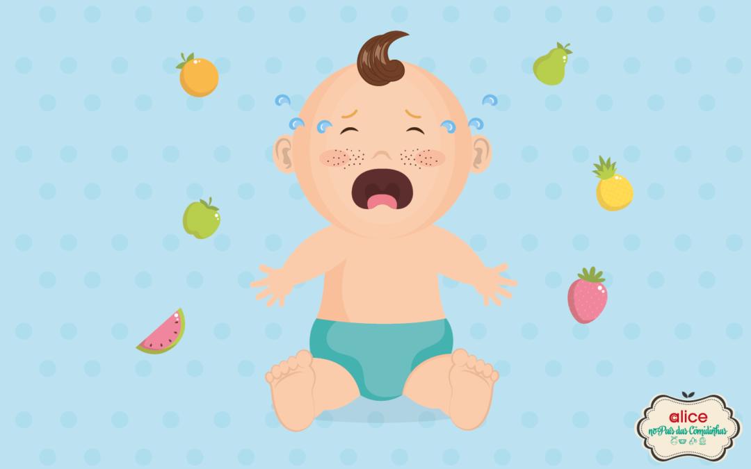 Meu bebê faz cara feia pra tudo que eu dou!