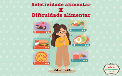 Seletividade alimentar x dificuldade alimentar